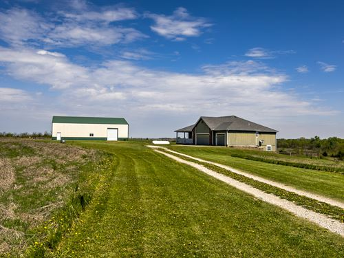Pasture, Crop Land, Ponds On 157 Ac : Burlingame : Osage County : Kansas