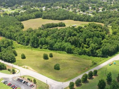 Greenville Hwy Development Site : Easley : Pickens County : South Carolina