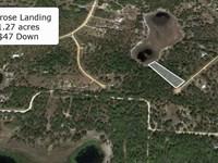Premium 1.27 Acre Waterfront Lot : Hawthorne : Putnam County : Florida