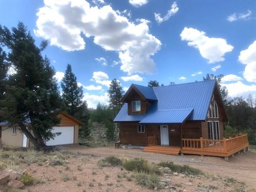 Gold Quartz Hunting Cabin : Gunnison : Saguache County : Colorado