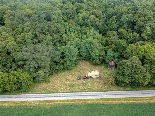 Hunting Land For Sale-30 Acre Wood : Peru : Miami County : Indiana