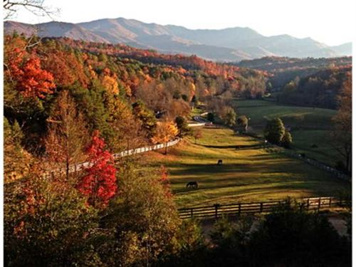 Horse Property, Equestrian Communi : Bryson City : Swain County : North Carolina