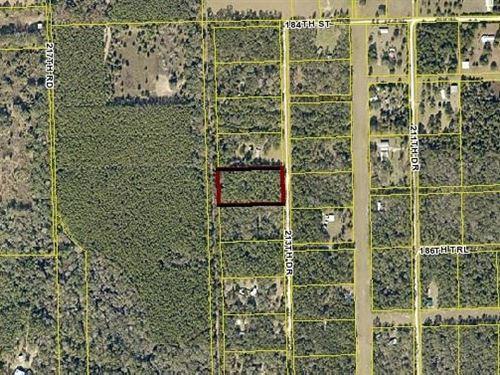 Nice Air Park Community Gated : Live Oak : Suwannee County : Florida