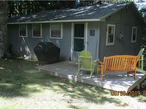 Pine Lake Cabin Frontage Pinelake : Finlayson : Aitkin County : Minnesota