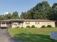 Rural 4 Bedroom Home, Cub Run Ky : Cub Run : Hart County : Kentucky