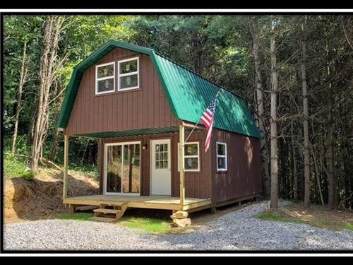 Big Pine Cabin : Chandlersville : Muskingum County : Ohio