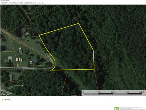 5.21 Beautiful Acres Near Libert : Liberty : Pickens County : South Carolina
