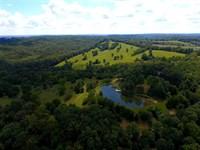 Custom Home on 224 Acres Near Oldf : Oldfield : Christian County : Missouri