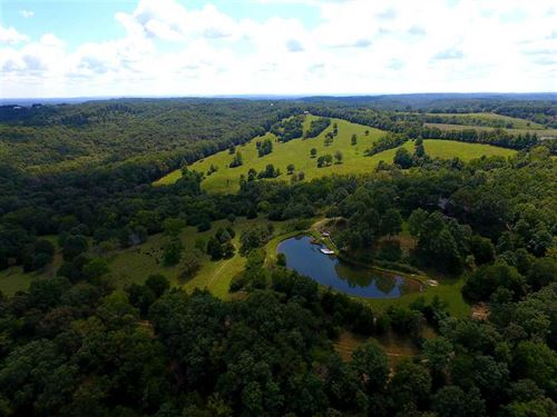 Custom Home on 224 Acres Near Oldf : Oldfield : Christian County : Missouri