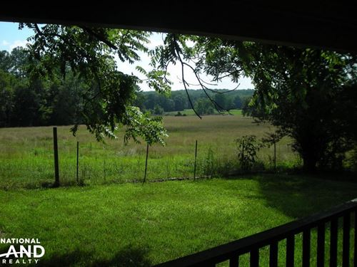 64 AC Farm With Cabin Home : Tallapoosa : Haralson County : Georgia