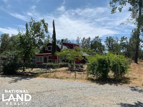 10 Acre Horse Property : Anderson : Shasta County : California