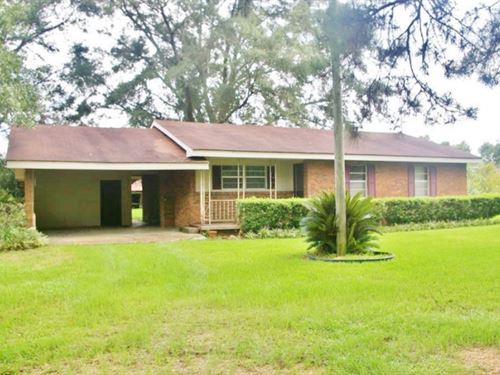 3 Bed/1 Bath Brick Home 1 Acre : Magnolia : Pike County : Mississippi
