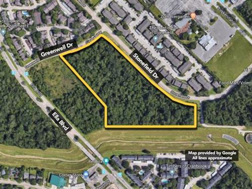 10.93 ac of Commercial Land : Houston : Harris County : Texas