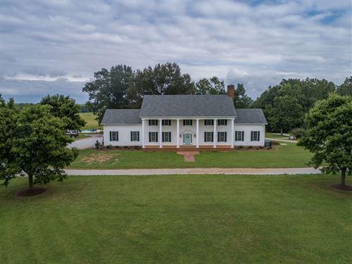 Cattle Ranch & Recreational Land : McKenney : Dinwiddie County : Virginia