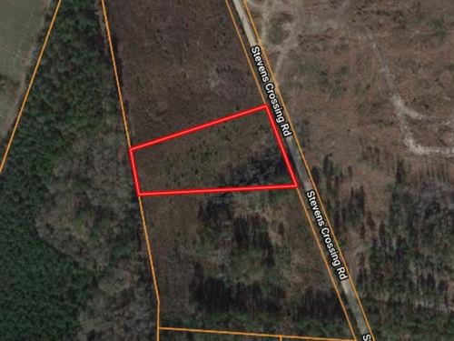 3 Acre Homesite in Midville, GA : Midville : Emanuel County : Georgia