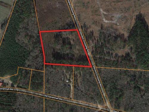7 Acre Homesite in Midville, GA : Midville : Emanuel County : Georgia