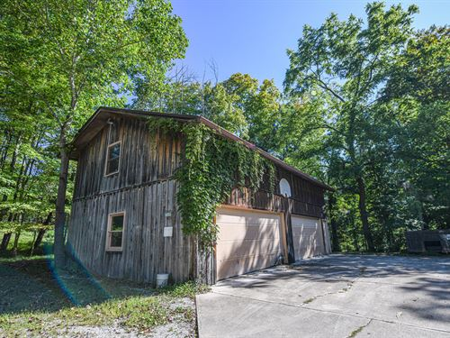 Brown County Log Cabin Land : Nashville : Brown County : Indiana