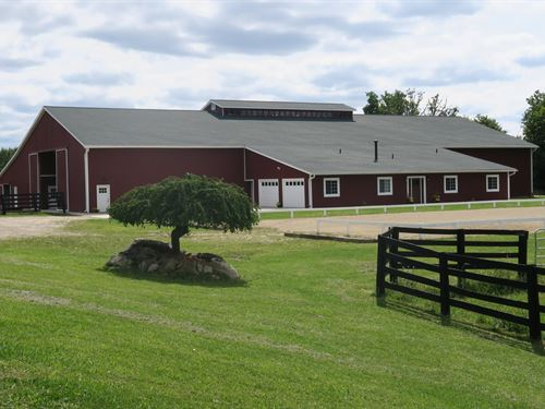 Turn-Key Equestrian Facility Lapeer : Goodrich : Lapeer County : Michigan