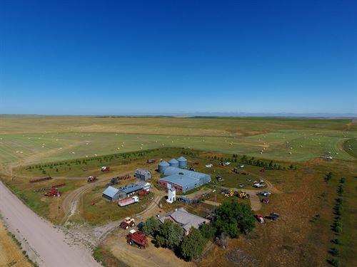 Kimball County Pasture & Pivots : Bushnell : Kimball County : Nebraska
