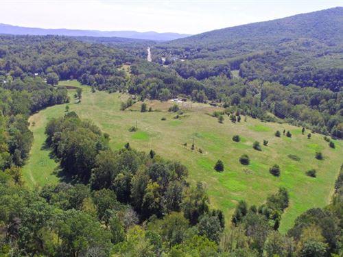 Incredible 52 Acres : Pulaski : Virginia