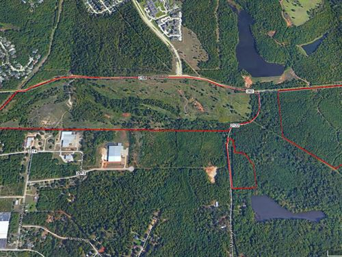 209 Acres Primed For Development : Tyler : Smith County : Texas