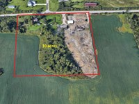 10 Acres Development Land For Sale : Superior : Washtenaw County : Michigan