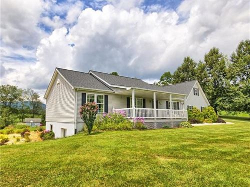 Stunning Home, Mountain Views : West Jefferson : Ashe County : North Carolina