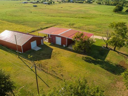 Well Kept 10 Acre Ranchette With : Walnut Springs : Bosque County : Texas