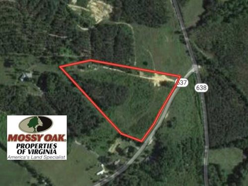 8 Acres of Hunting Land For Sale : Nathalie : Halifax County : Virginia