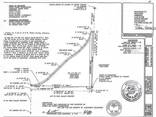 Vacant Land For Sale Viola Arkansas : Viola : Fulton County : Arkansas