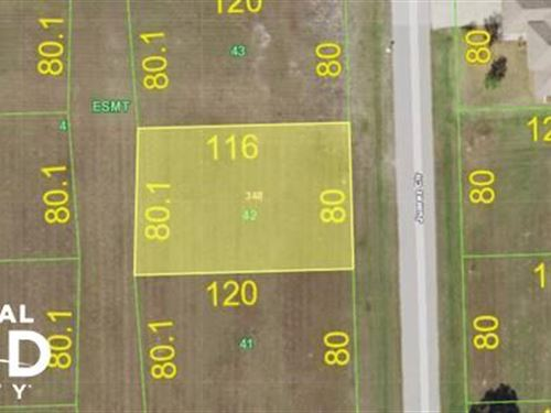 Awesome Lot in Quiet Neighborhood : Punta Gorda : Charlotte County : Florida