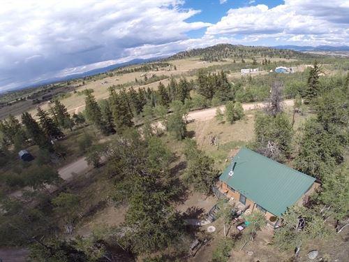 Classic Colorado Cabin, Views Miles : Jefferson : Park County : Colorado
