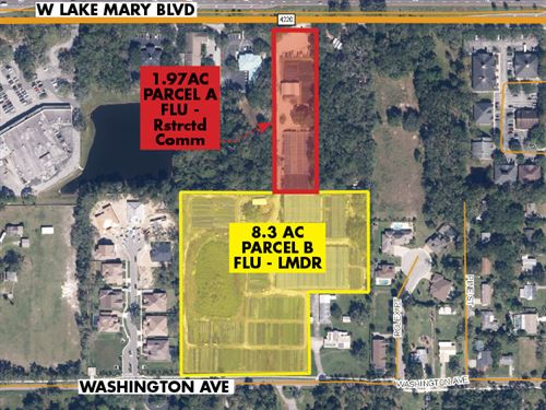 Lake Mary Redevelopment Opportunity : Lake Mary : Seminole County : Florida