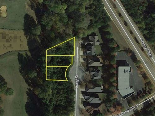3 Residential Lots : McDonough : Henry County : Georgia