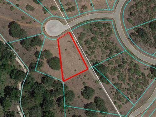 Residential Lot : Horseshoe Bay : Llano County : Texas