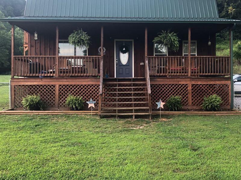 Cute, Well Kept Home In Wv : Orma : Calhoun County : West Virginia