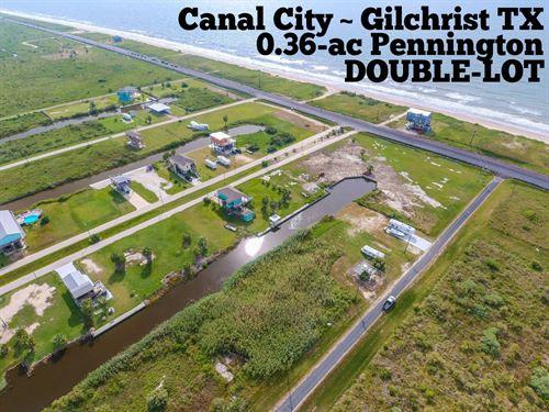 .36 Acres In Galveston County : Gilchrist : Galveston County : Texas