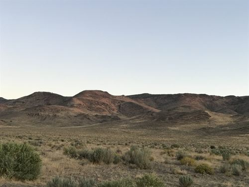 Majestic Mountains & Blue Skies : Silver Springs : Lyon County : Nevada