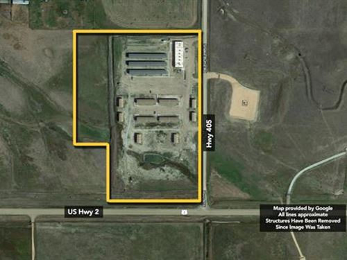 Sells Without Reserve Seller : Bainville : Roosevelt County : Montana
