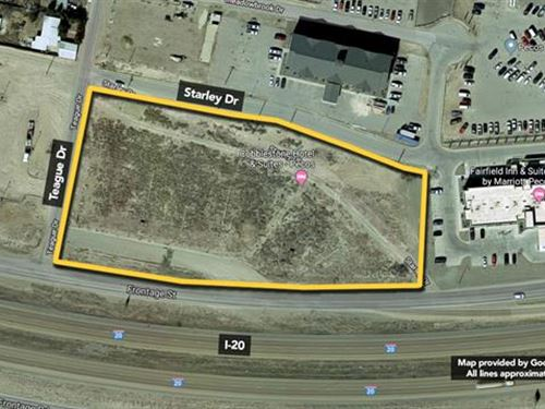 Sells Without Reserve Seller : Pecos : Reeves County : Texas