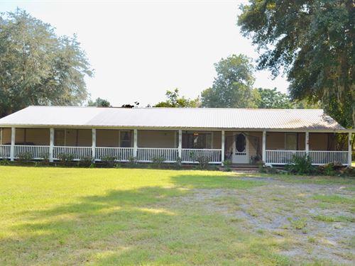 Beautiful 4Br/3Ba Ranch Style Home : Lake City : Columbia County : Florida