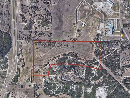Land 85 Acres in Central Texas : Killeen : Bell County : Texas