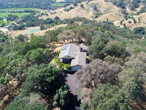 Private Napa County Homes Acreage : Napa : California