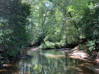 Six Mile Creek Frontage : Central : Pickens County : South Carolina