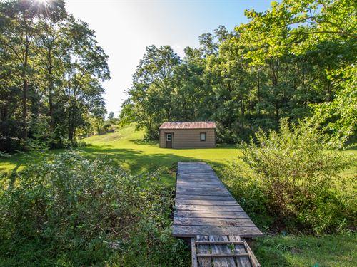 Willow Creek Rd, 94 Acres : Guysville : Athens County : Ohio