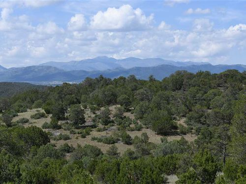 Indian Divide Acreage With Views : Capitan : Lincoln County : New Mexico