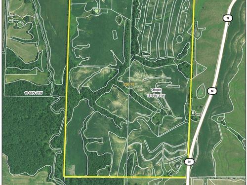 Missouri Row Crop Farm Gentry : Darlington : Gentry County : Missouri