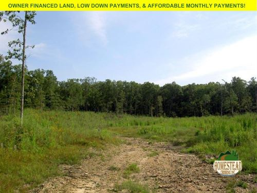 Fantastic Property To Build On : Cabool : Texas County : Missouri
