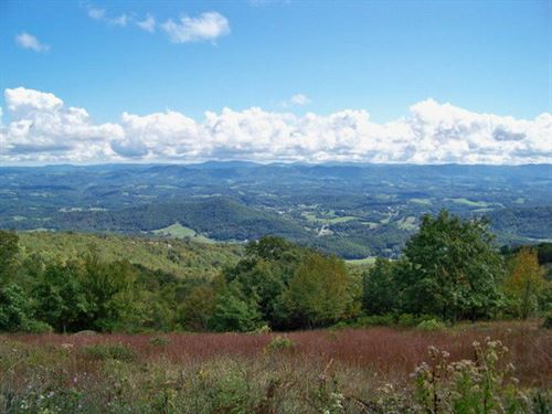 Outstanding Blue Ridge Homesite : Independence : Grayson County : Virginia
