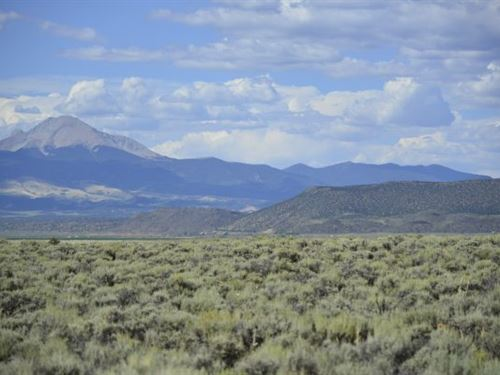 10 Amazing Acres In Sanford, Co : Fort Garland : Costilla County : Colorado